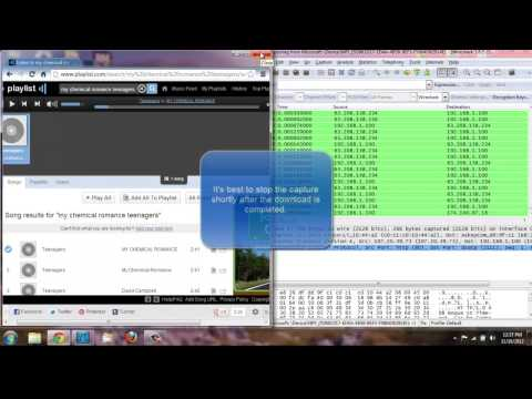 Wireshark Audio File Extraction
