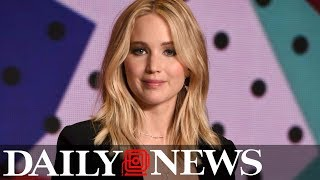 Jennifer Lawrence had to do a 'naked line-up' before being told to lose 15 pounds