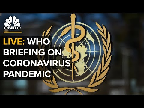 WATCH LIVE: World Health Organization holds a briefing on the coronavirus outbreak – 4/1/2020
