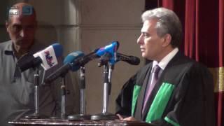 مصر العربية | وصايا رئيس جامعة القاهرة لخريجي حقوق دفعة 2016