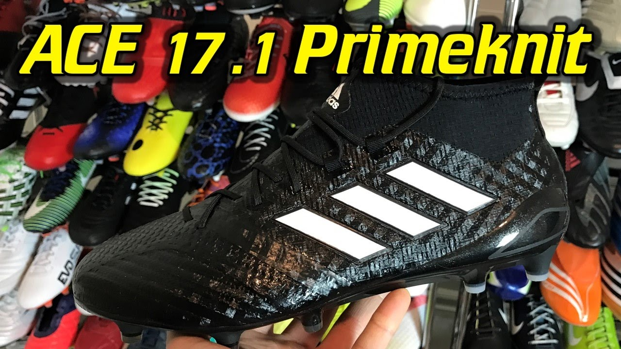 newest d701e 78f69 Adidas ACE 17.1 Primeknit (Chequered Black Pack) - One Take Review + On Feet