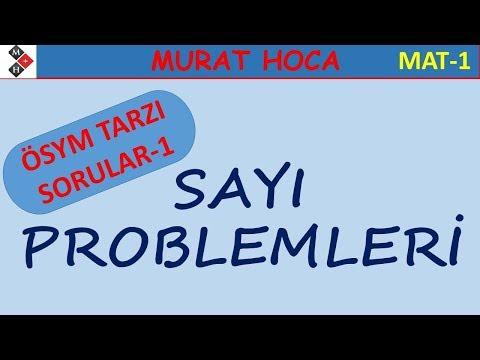 Sayı Problemleri (ÖSYM TARZI SORULAR-1)