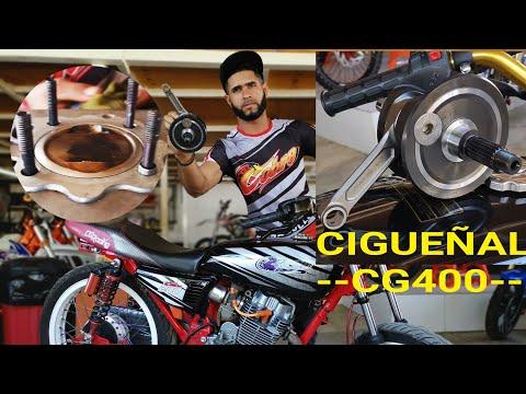 ❌Uffff ❌ CIGUEÑAL CG400 EN CG 300cc 4K COBRA