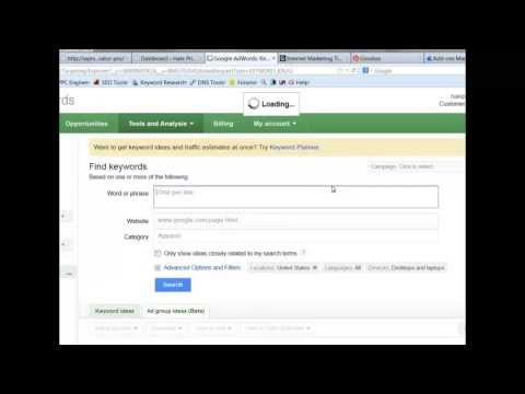 Google Keywords Tip  Find Relevant, Low Competition, High Traffic keywords in a minute