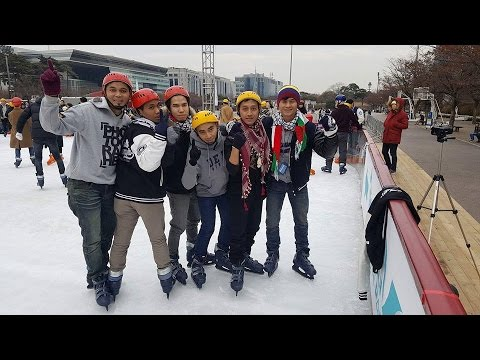 # VLOG 01 ICE SKATING SEOUL 2017