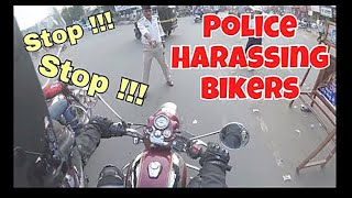 Police Harassing Biker   Gujarat Police   Hate Biker   Police   Biker Fight  