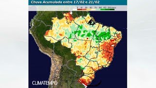 Previsão Brasil 15 dias