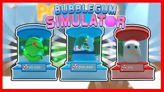 NUEVOS HUEVOS en la NUEVA ACTUALIZACION de Bubble Gum Simulator *Update 4*