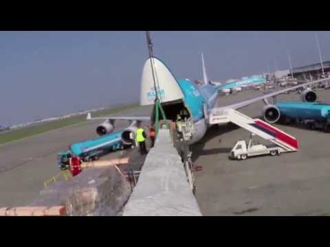 Air France KLM Martinair Cargo to bring spare mast to Volvo Ocean Race in Brazil [KLM Cargo B747]