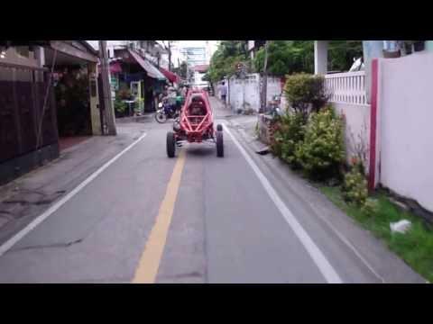 จ่าเกษม ลองรถUTVบัีกกี้คนไทยสร้างเอง3