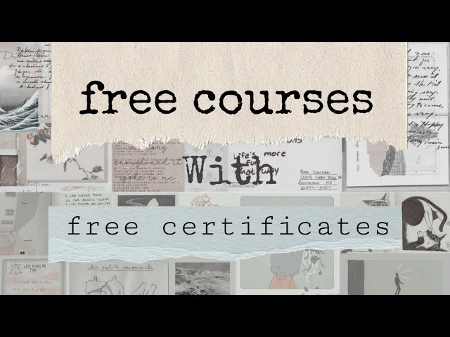 free online courses with free printable certificate for everyone 2020   EQUITONE