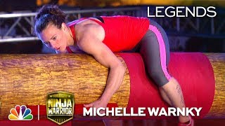 Michelle Warnky: Second Woman to Climb the Warped Wall - American Ninja Warrior