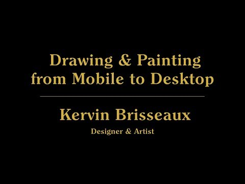 Live from 99U: Drawing & Painting from Mobile to Desktop with Kervin Brisseaux