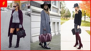 How To Wear Burgundy Boots Like A Fashion Diva