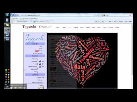How To Use Tagxedo - Create Word Clouds
