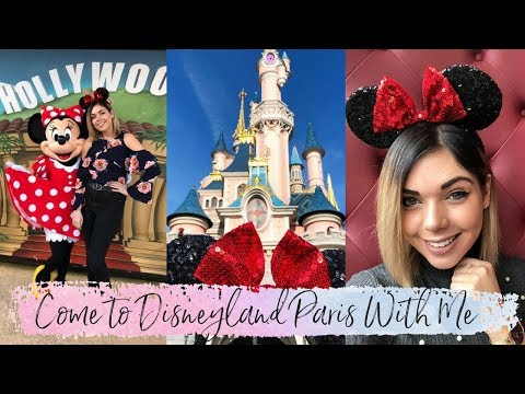 COME TO DISNEYLAND PARIS WITH ME | TRAVEL | Emma Mumford
