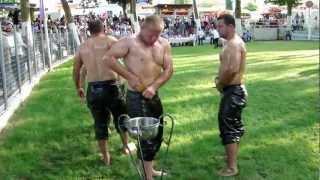 Oil Wrestling At Nigrita / Greece
