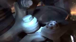 mercedes e350 4matic front brake job