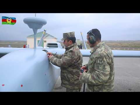 Տեսանյութ.Ադրբեջանում զորավարժությունների ժամանակ օդ են բարձրացվել մարտական անօդաչուները