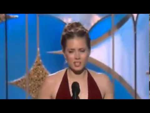 Amy Adams Wins Golden Globe Awards 2014 | HD