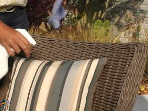 Madison All Weather Wicker Outdoor Dining Set Seats 6 - Product Review Video