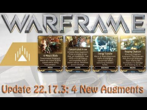 Warframe - Update 22.17.3: 4 New Augments