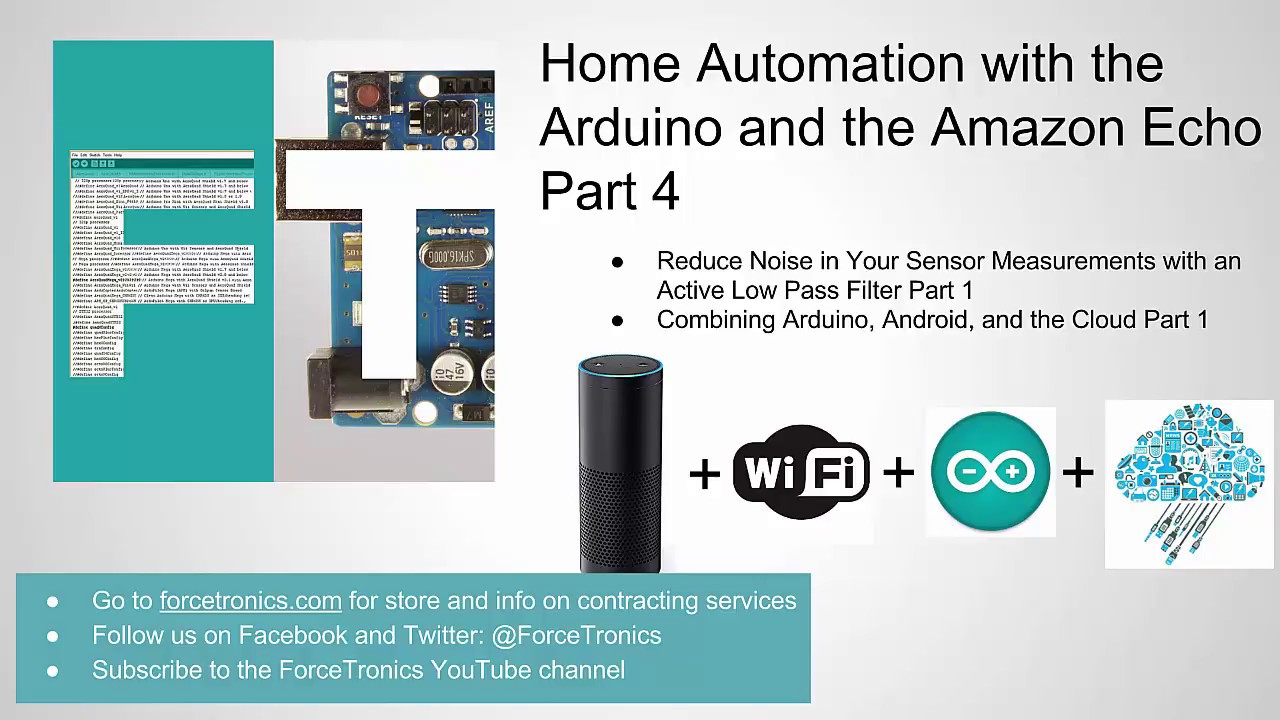 Home Automation with Arduino and the Amazon Echo Part 4 - YouTube