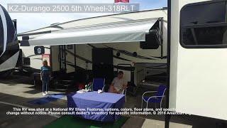KZ-RV-Durango 2500 5th Wheel-318RLT