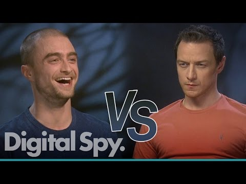 Daniel Radclifffe vs James McAvoy - who knows the other the best?