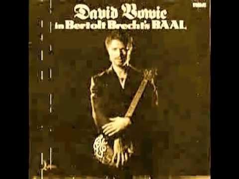 David Bowie Bertolt Brecht