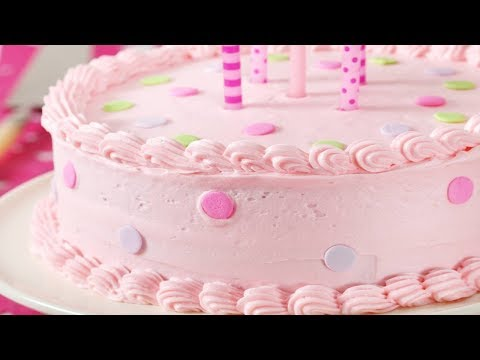 Vanilla Cake Recipe Demonstration - Joyofbaking.com