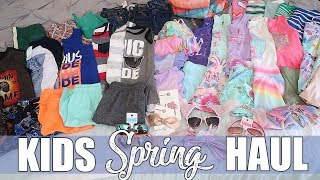 Huge Kids Spring & Summer Clothing Shopping Haul | Gymboree & The Children's Place