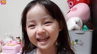 아이들 양치 하기 싫을때 보는 영상!! 치카치카 완벽히 양치하기 [큐티뽀짝 예콩이TV] 5 years old baby brushing | 5歳の赤ちゃんの歯を磨くため