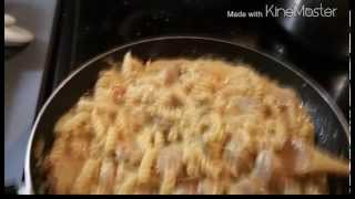 How To Make Easy Creamy Onion Italian Chicken Sausage With Rotini