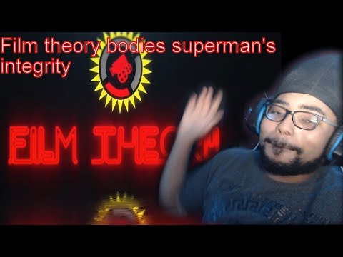 Film theory:the corruption of superman: Drunk reaction!!!!