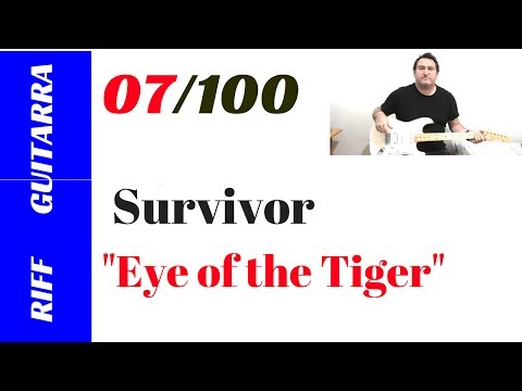 survivor eye of the tiger riff lesson tab youtube. Black Bedroom Furniture Sets. Home Design Ideas