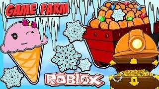 WINTER MINING GREAT DEPTHS ON ROBLOX SIMULATOR!!