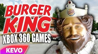 Xbox 360 games but they are made by Burger King