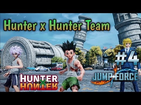 Gon Killua Kurapika Hunter X Hunter Team Jump Force Online 4 Youtube