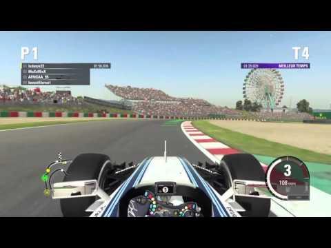 Fuel F1: qualif et depart course Japon groupe F1