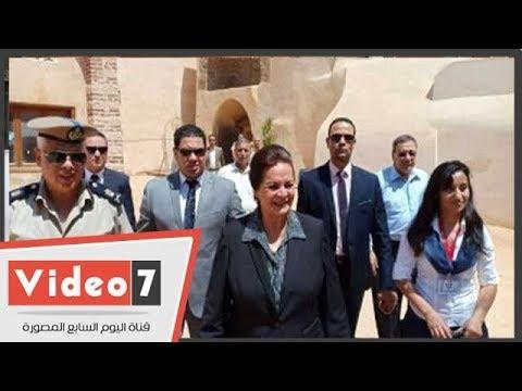 """محافظ البحيرة لـ """"وفد العائلة المقدسة"""":  احكوا لأحبابكم عن مصر بلد الأمن والأمان"""