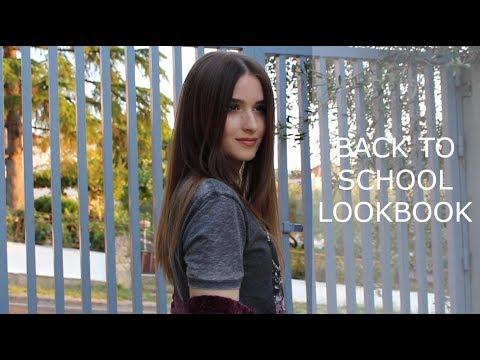 BACK TO SCHOOL LOOKBOOK 2017