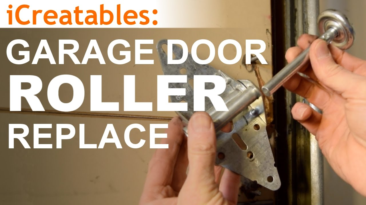 How To Replace Garage Door Rollers Youtube