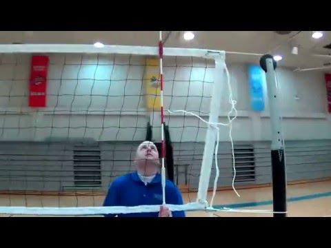 Sports Imports Volleyball Net System Setup (Wildcats) - YouTube