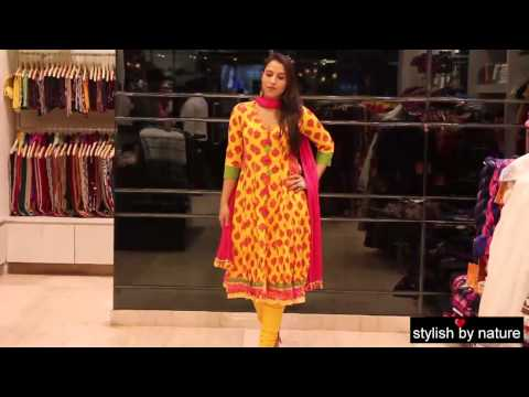 Ethnic Indian Party wear outfits by BIBA