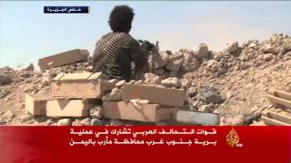 فيديو.. التحالف العربي بدأنا معركة موسعة ضد الحوثيين فى اليمن