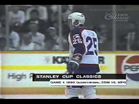 1990 Smythe Semi Final GM4 Jets vs Oilers (Part 3 of 3)