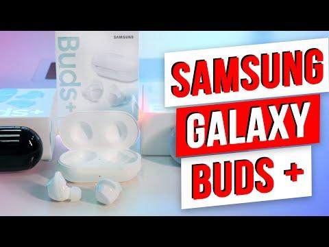 Распаковка Galaxy Buds+ / Еще ГРОМЧЕ и Чувствительнее