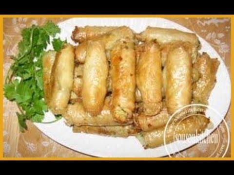 Recette de rouleaux feuillet s aux pommes de terre potatoe - Cuisine choumicha youtube ...
