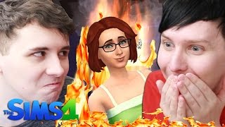 DIL BURNS THE PANCAKES - Dan and Phil Play: Sims 4 #36(, 2017-02-27T21:20:10.000Z)
